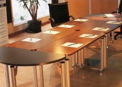 Mesa de reunión Flow